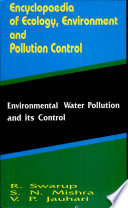 Environmental Water Pollution And Its Control Book PDF