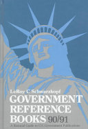 Government Reference Books 1990 91
