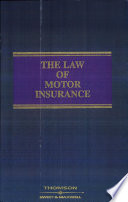 The Law of Motor Insurance