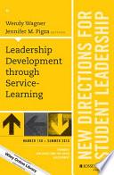 Leadership Development through Service-Learning