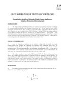 OECD Guidelines for the Testing of Chemicals  Section 1 Test No  119  Determination of the Low Molecular Weight Content of a Polymer Using Gel Permeation Chromatography
