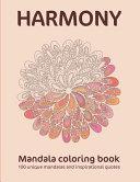 Harmony Mandala Coloring Book
