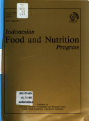 Indonesian Food and Nutrition Progress