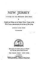 New Jersey  a Guide to Its Present and Past