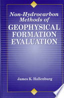 Non Hydrocarbon Methods of Geophysical Formation
