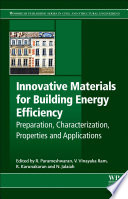 Innovative Materials for Building Energy Efficiency Book