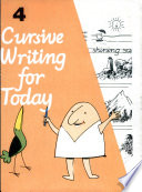 Cursive Writing For Today Book - 4