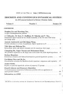 Discrete And Continuous Dynamical Systems