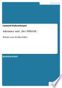 """Adenauer und """"Der SPIEGEL"""""""