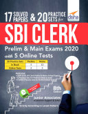 17 Solved Papers & 20 Practice Sets for SBI Clerk Prelim & Main Exams 2020 with 5 Online Tests (8th edition) Pdf/ePub eBook