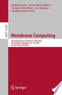 Membrane Computing Book