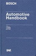 Automotive Handbook Book PDF
