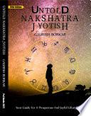 Untold Nakshatra Jyotish