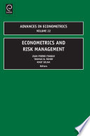 Econometrics and Risk Management Book