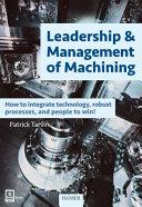 Leadership   Management of Machining