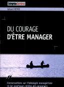 Du courage d'être manager