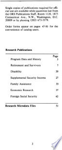 Research Publications   Microdata Files