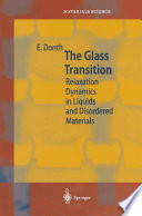 The Glass Transition Book
