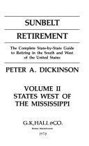 Sunbelt Retirement  States west of the Mississippi