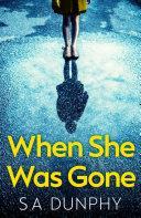 When She Was Gone [Pdf/ePub] eBook