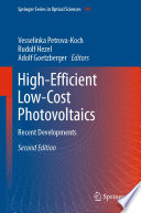 High Efficient Low Cost Photovoltaics