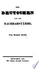 Die Deutschen und die Nachbarstämme
