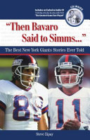 """Then Bavaro Said to Simms. . ."": The Best New York Giants ..."