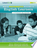 Making Mathematics Accessible to English Learners