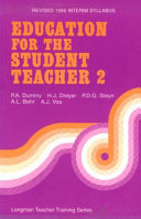 Education for the Student Teacher  1995 Syllabus