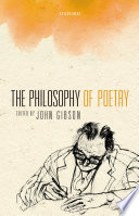 The Philosophy of Poetry Book