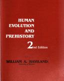 Human Evolution and Prehistory Book PDF