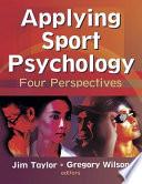 Applying Sport Psychology