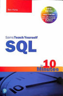 SQL in 10 Minutes a Day  Pearson Teach Yourself