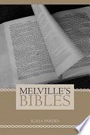 Melville's Bibles