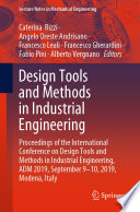 Design Tools and Methods in Industrial Engineering Book