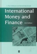 International Money and Finance  Third Edition Book