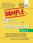 FREE SAMPLE  28 Mock Test Series for Olympiads Class 2 Science  Mathematics  English  Logical Reasoning  GK   Cyber 2nd Edition