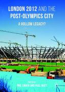 London 2012 and the Post-Olympics City Pdf/ePub eBook