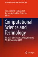 Computational Science and Technology Pdf/ePub eBook