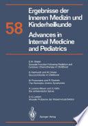 Ergebnisse der Inneren Medizin und Kinderheilkunde   Advances in Internal Medicine and Pediatrics Book