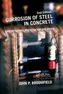 Corrosion of Steel in Concrete Book