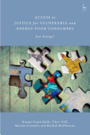 Access to Justice for Vulnerable and Energy-Poor Consumers Pdf/ePub eBook