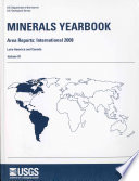 Minerals Yearbook 2008 V 3 Area Reports