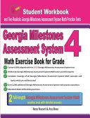 Georgia Milestones Assessment System Math Exercise Book for Grade 4