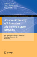 Pdf Advances in Security of Information and Communication Networks Telecharger