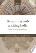 Bargaining with a Rising India Book