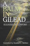 A Balm in Gilead