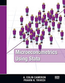 Applied Microeconometrics Using Stata