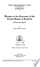 Women in the Economy of the United States of America Book PDF