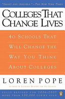 Colleges That Change Lives Pdf/ePub eBook